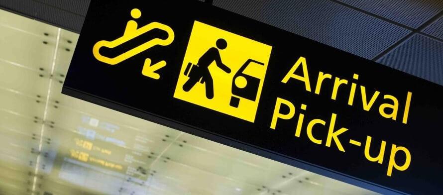 پیکاپ فرودگاه