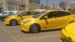 تاکسی قزوین تهران