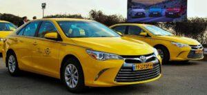 نرخ کرایه تاکسی دربستی رشت به تهران
